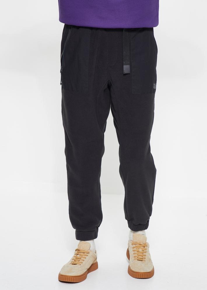 C&A松紧腰织带饰摇粒绒工装裤男士2020早春新款CA200224884