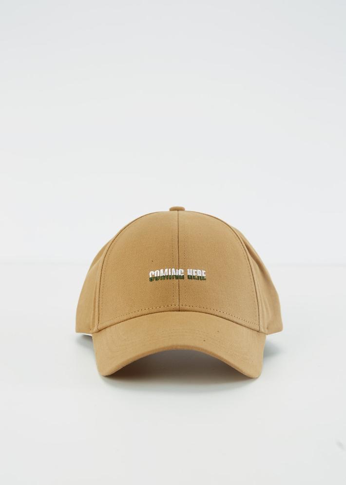 C&A男士时尚休闲字母刺绣鸭舌帽2020春季新款棒球帽CA200225032