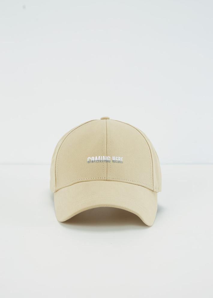 C&A男士潮流字母刺绣鸭舌帽2020春季新款学生棒球帽CA200225038