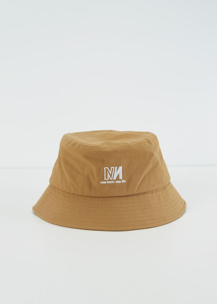 C&A男士潮流字母刺绣日系复古渔夫帽2020春季新款盆帽CA200225048