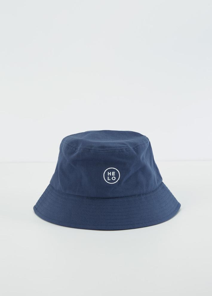 C&A男士潮流字母刺绣日系复古渔夫帽2020春季新款盆帽CA200225057