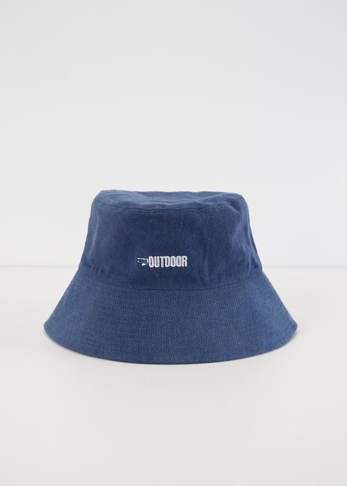 C&A双面设计潮流刺绣两戴渔夫帽男士2020春季新款CA200225489