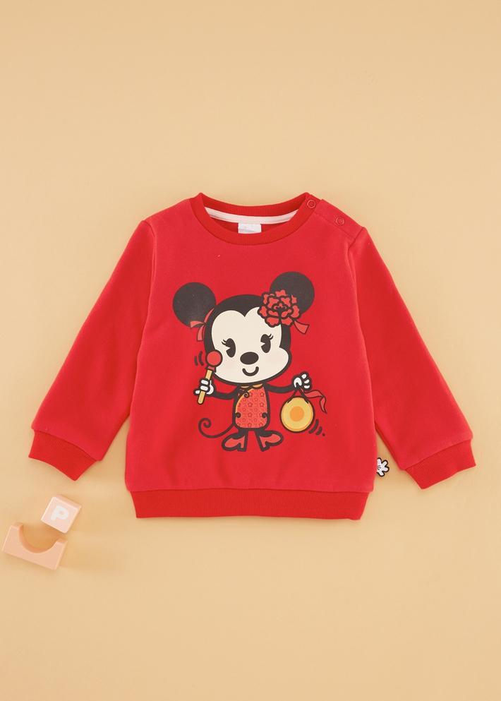 C&A女嬰兒男寶寶迪士尼米奇米妮衛衣2020春季鼠年新款CA200223912
