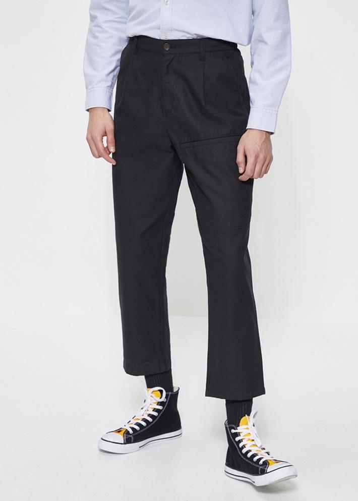 C&A个性口袋纯棉宽松直筒复古工装裤男2020春季新款CA200224797