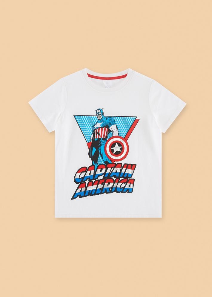 C&A男童漫威联名蜘蛛侠纯棉圆领短袖T恤2020新夏季CA200227021